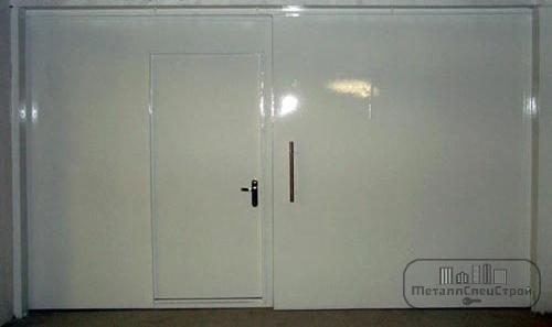 МеталлСпецСтрой противопожарные ворота EI60